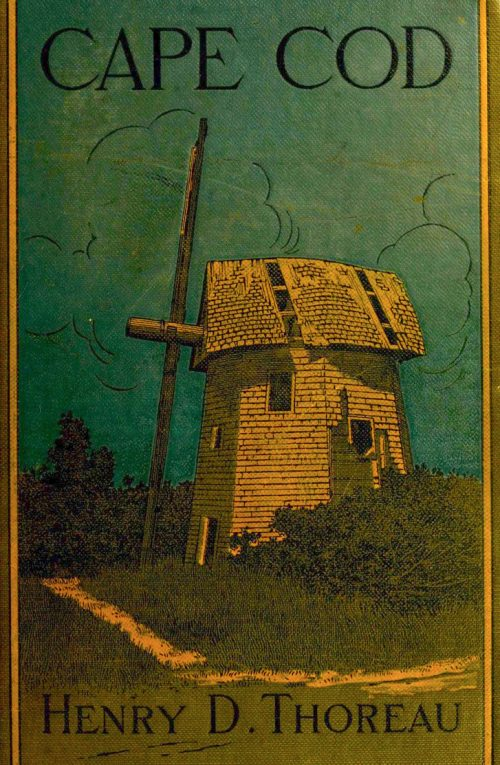 cover of Cape Cod featuring windmill